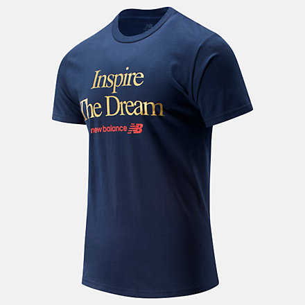New Balance NB Inspire The Dream Tee, MT01602TNV image number null
