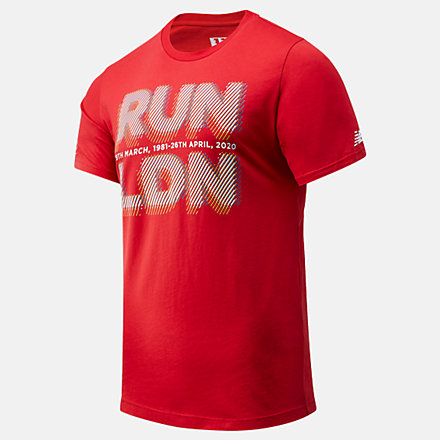 NB London Marathon Run LDN Graphic Tee, MT01603DREP image number null