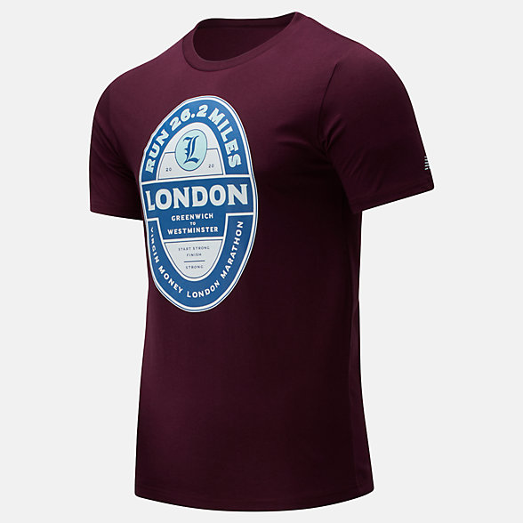 NB Camiseta London Edition Pub Graphic, MT01606DNBY
