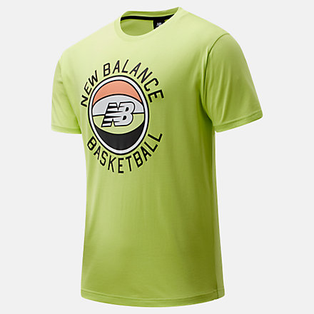 New Balance NB Basketball First Light Tee, MT01681LS2 image number null