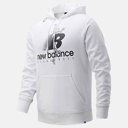 New Balance The Shot Hoodie, MT01682WT image number null