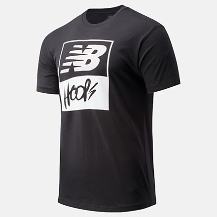 New Balance NB Basketball Finisher Graphic Tee, MT01783BM image number null