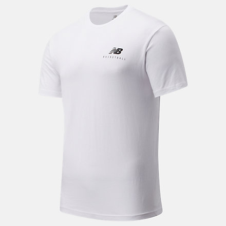 New Balance NB Basketball Finisher Graphic Tee, MT01783WK image number null