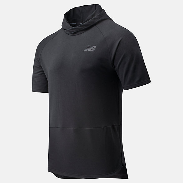 New Balance NB Basketball ISO Shooting Shirt, MT01785BK