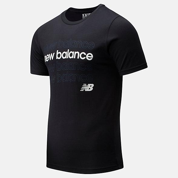 New Balance NB Classic Repeat T, MT01910BK