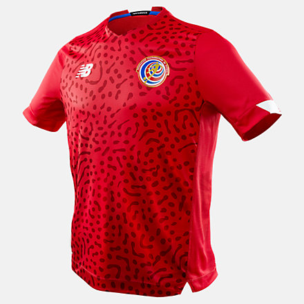 New Balance Costa Rica Home Short Sleeve Jersey, MT030297HME image number null