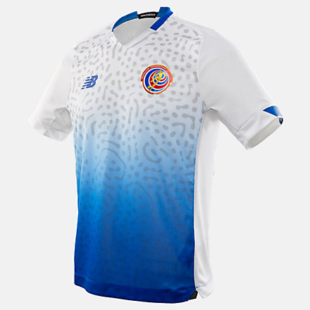 New Balance Costa Rica Away Short Sleeve Jersey, MT030300AWY image number null