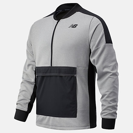 New Balance RWT Travel Pullover, MT03053AG image number null