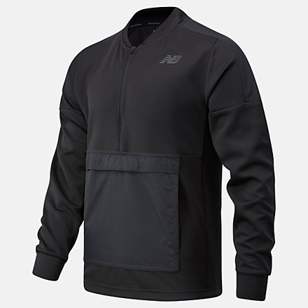 New Balance RWT Travel Pullover, MT03053BK image number null