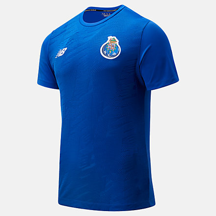 NB FC Porto Pre-Game Short Sleeve Jersey, MT031061STW image number null