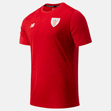NB Athletic Club Pre-Game Short Sleeve Jersey, MT031111TRE image number null