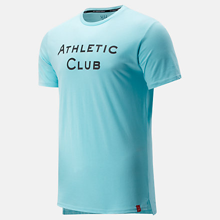 NB Athletic Club Travel Graphic Tee, MT031125SSP image number null