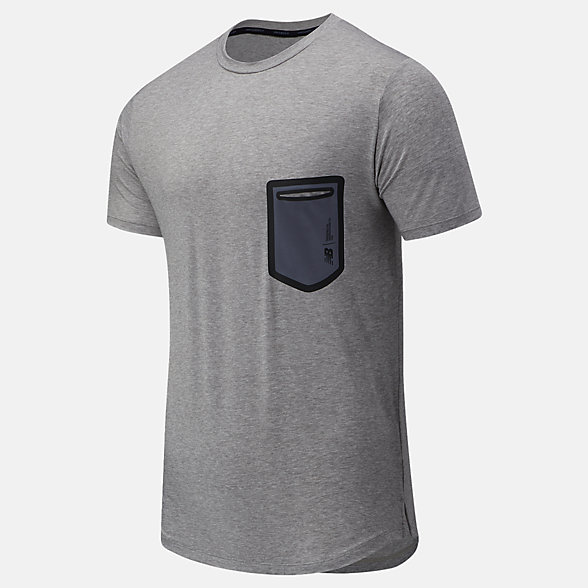 NB Fortitech Pocket Tee, MT03173AG