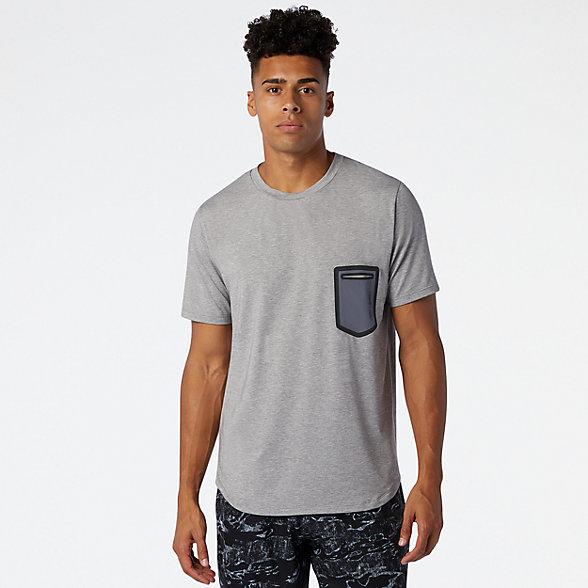 New Balance 男款Fortitech口袋T恤, MT03173AG