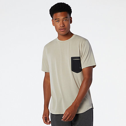 New Balance Fortitech Pocket Tee, MT03173GOK image number null