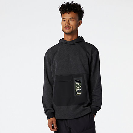 New Balance Fortitech Pullover, MT03176HC image number null