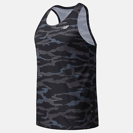 New Balance Printed Accelerate Singlet, MT03202CMO image number null