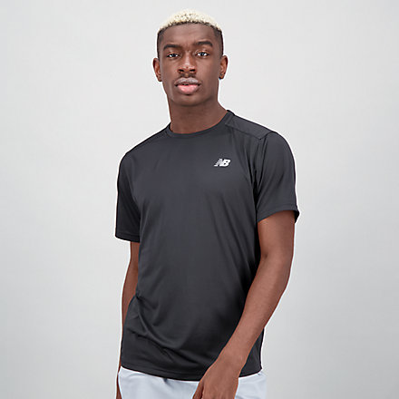 New Balance Accelerate Short Sleeve, MT03203BK image number null