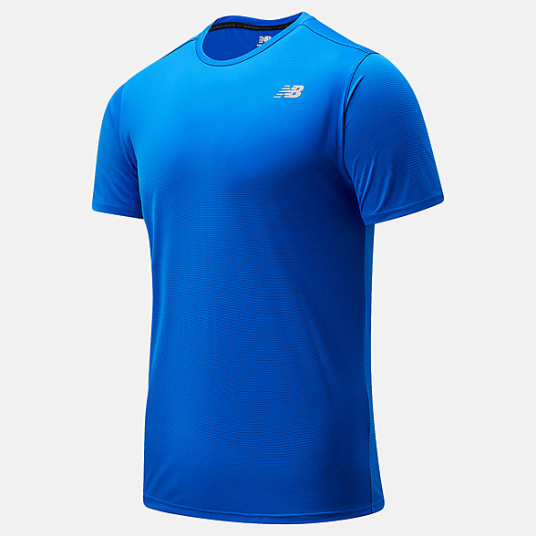 New Balance Accelerate Short Sleeve, MT03203CO