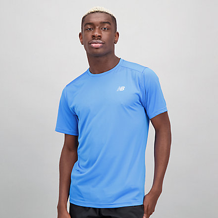 New Balance Accelerate Short Sleeve, MT03203HLU image number null
