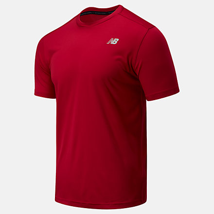 New Balance Accelerate Short Sleeve, MT03203NCR image number null