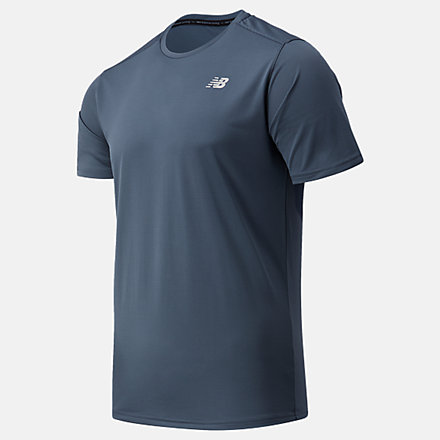 New Balance Accelerate Short Sleeve, MT03203THN image number null
