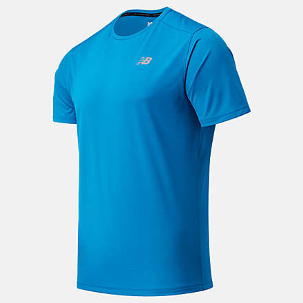 New Balance Accelerate Short Sleeve, MT03203WAB image number null