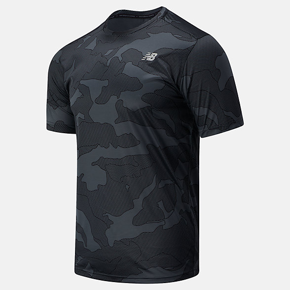New Balance Printed Accelerate Short Sleeve, MT03204BM