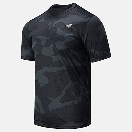 New Balance Printed Accelerate Short Sleeve, MT03204BM image number null