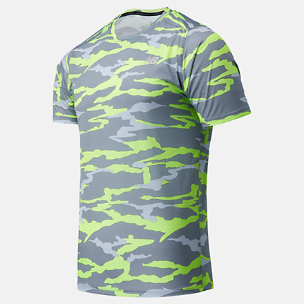 New Balance Printed Accelerate Short Sleeve, MT03204BO1 image number null