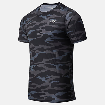 New Balance Printed Accelerate Short Sleeve, MT03204CMO image number null
