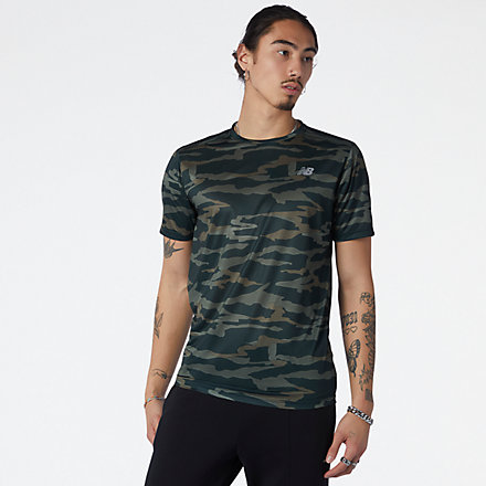 New Balance Printed Accelerate Short Sleeve, MT03204NSE image number null