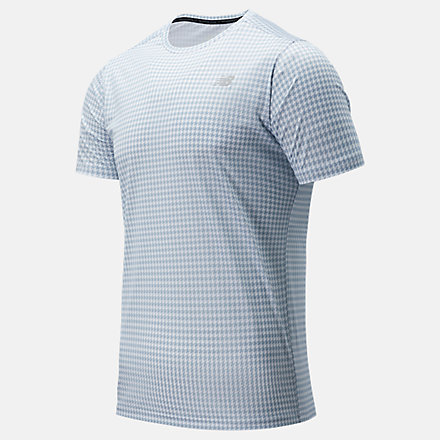 New Balance Printed Accelerate Short Sleeve, MT03204WM image number null
