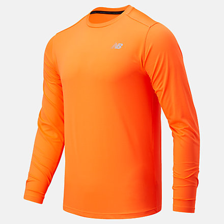 New Balance Accelerate Long Sleeve, MT03205DME image number null