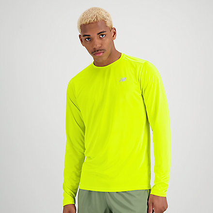 NB Accelerate Long Sleeve, MT03205SYE image number null