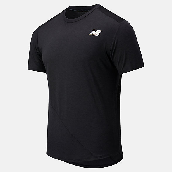 NB Camiseta de manga corta Fast Flight, MT03222BK
