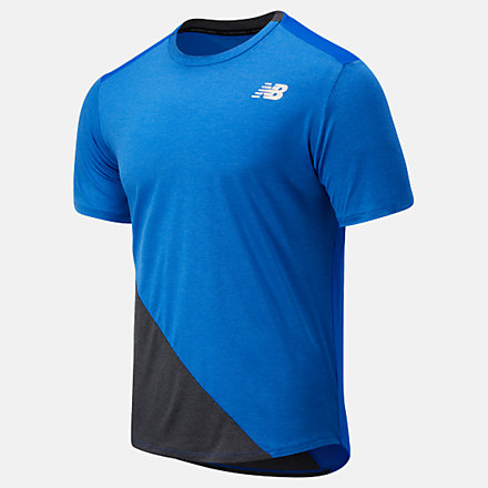 New Balance Fast Flight Short Sleeve, MT03222CH1 image number null