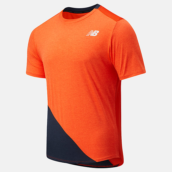 NB Fast Flight Short Sleeve, MT03222DH1