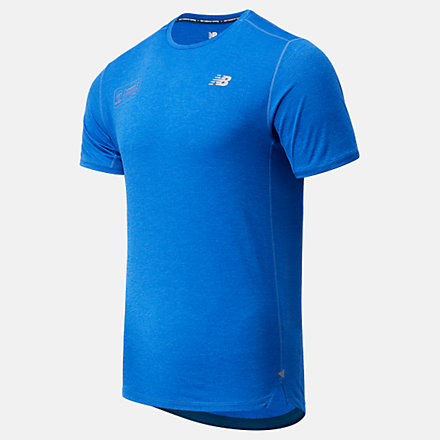 NB London Acceptance Impact Run Short Sleeve, MT03234DFCT image number null