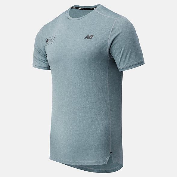 NB London Acceptance Impact Run Short Sleeve, MT03234DLST