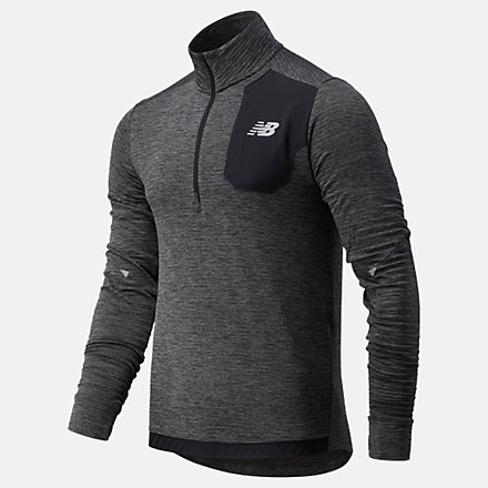 New Balance NB HEAT GRID HALF ZIP, MT03255HC image number null