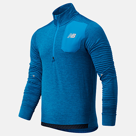 New Balance NB HEAT GRID HALF ZIP, MT03255WBH image number null