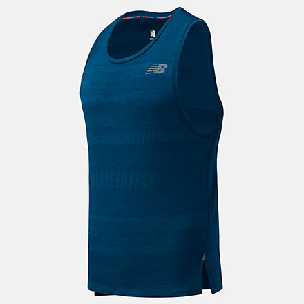 NB Q Speed Fuel Jacquard Tank, MT03260RWH image number null