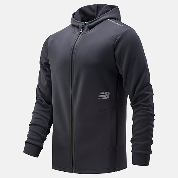 NB NBST Zip Thru Hoody, MT033020BK