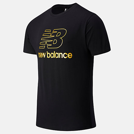 New Balance NB Athletics Podium Tee, MT03503BK image number null