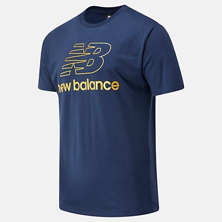New Balance NB Athletics Podium Tee, MT03503NGO image number null