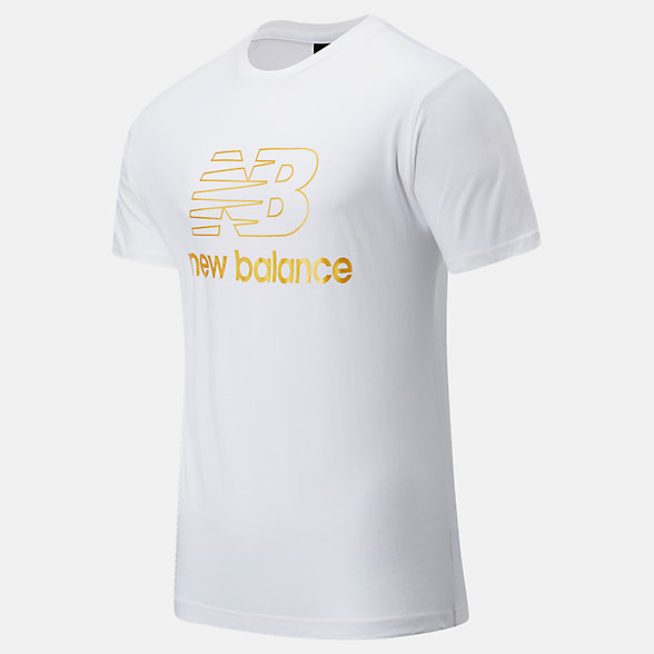New Balance NB Athletics Podium Tee, MT03503WT
