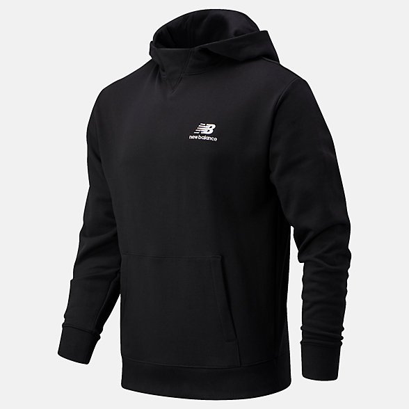 New Balance NB Athletics Village Fleece Pullover, MT03505BK
