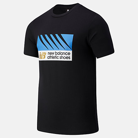 NB NB Athletics Village Tee, MT03507BK image number null