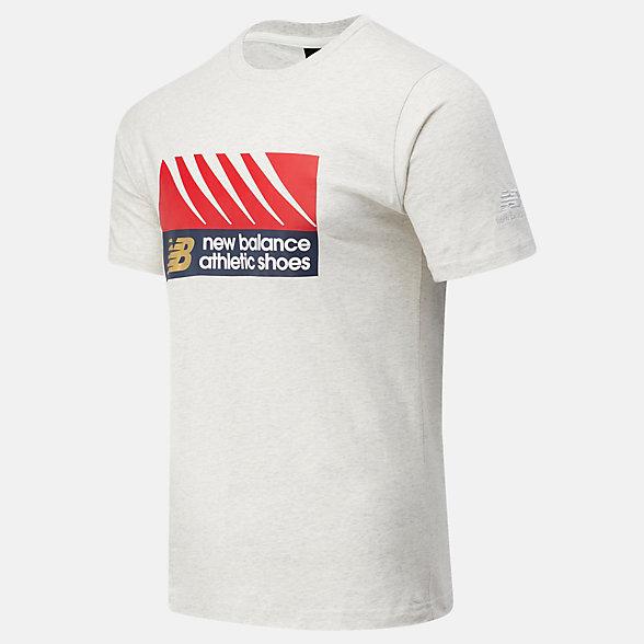 NB Camiseta NB Athletics Village, MT03507SAH